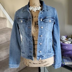 Nicole Miller Jean Jacket Size Medium NWT